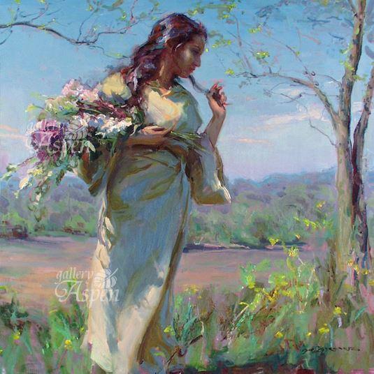 野の花を摘んで